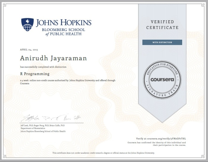 Coursera | Discovering Python & R