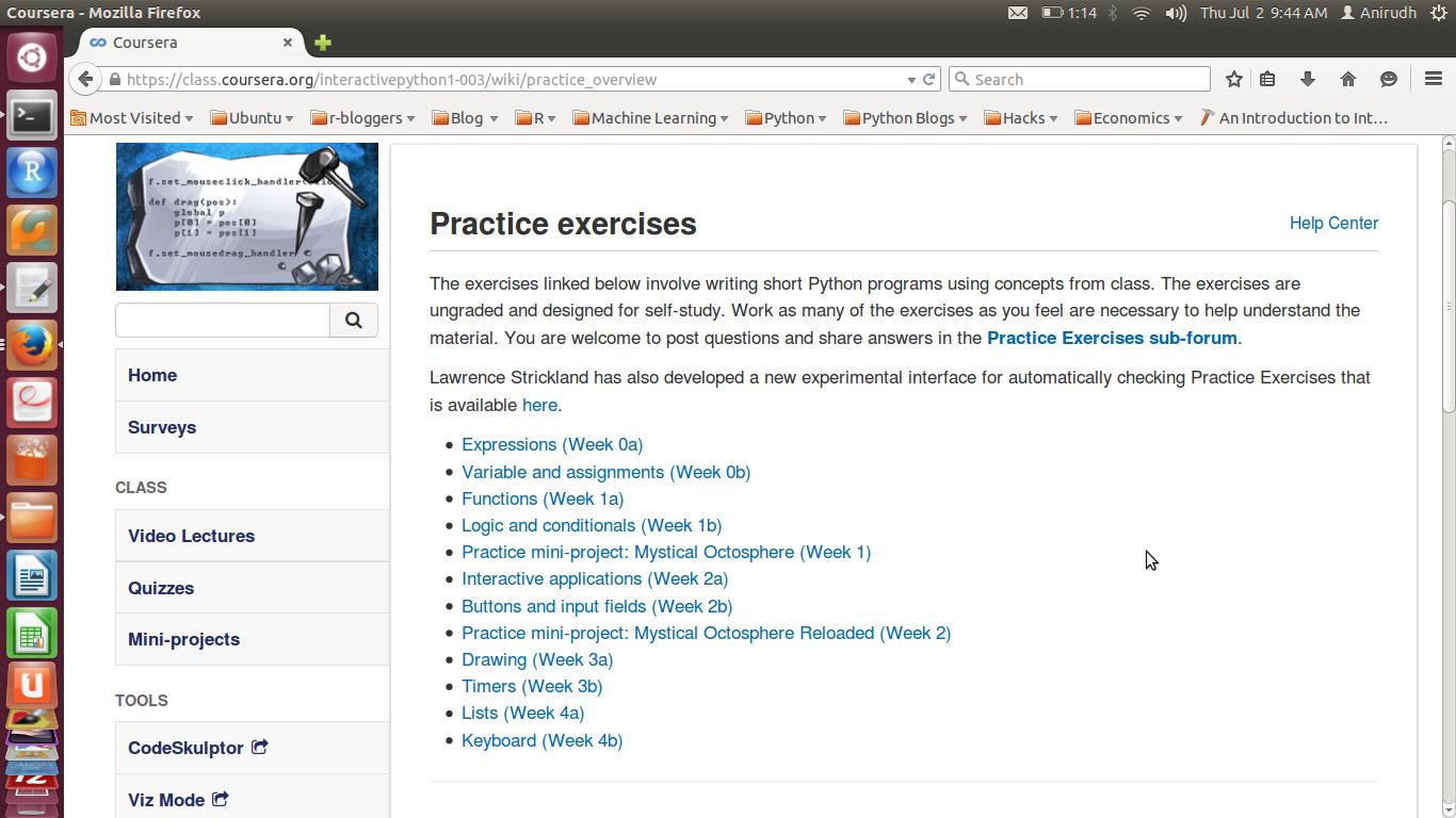 MOOC   Discovering Python & R