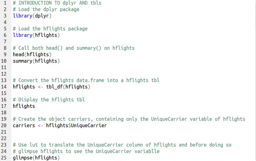 Data Manipulation in R with dplyr – Part 1